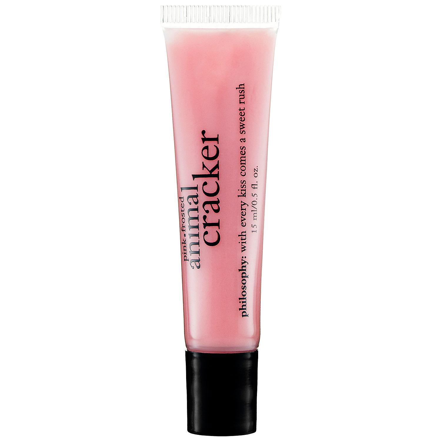 Pink Frosted Animal Cracker Lip Shine