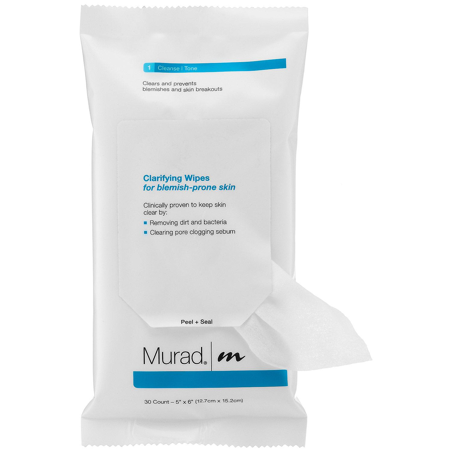 Clarifying Wipes For Blemish-Prone Skin