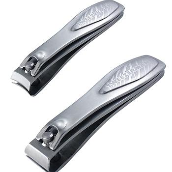Tweezerman Satin Etched Nail Clipper Set