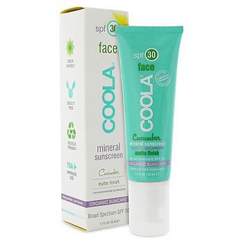 Coola Mineral Face SPF 30 Matte Cucumber