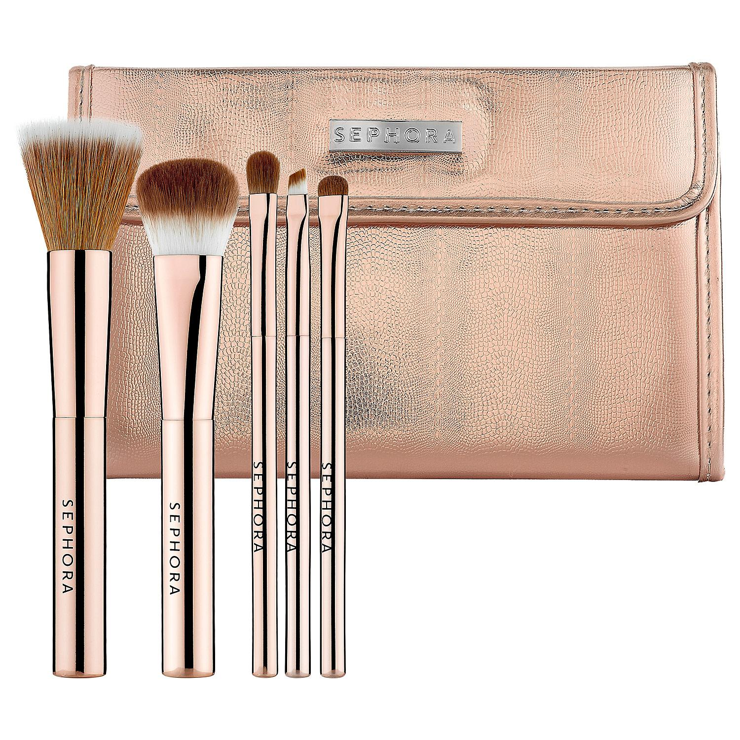 SEPHORA COLLECTION Rose Gold Mineral Brush Set questions and reviews ...