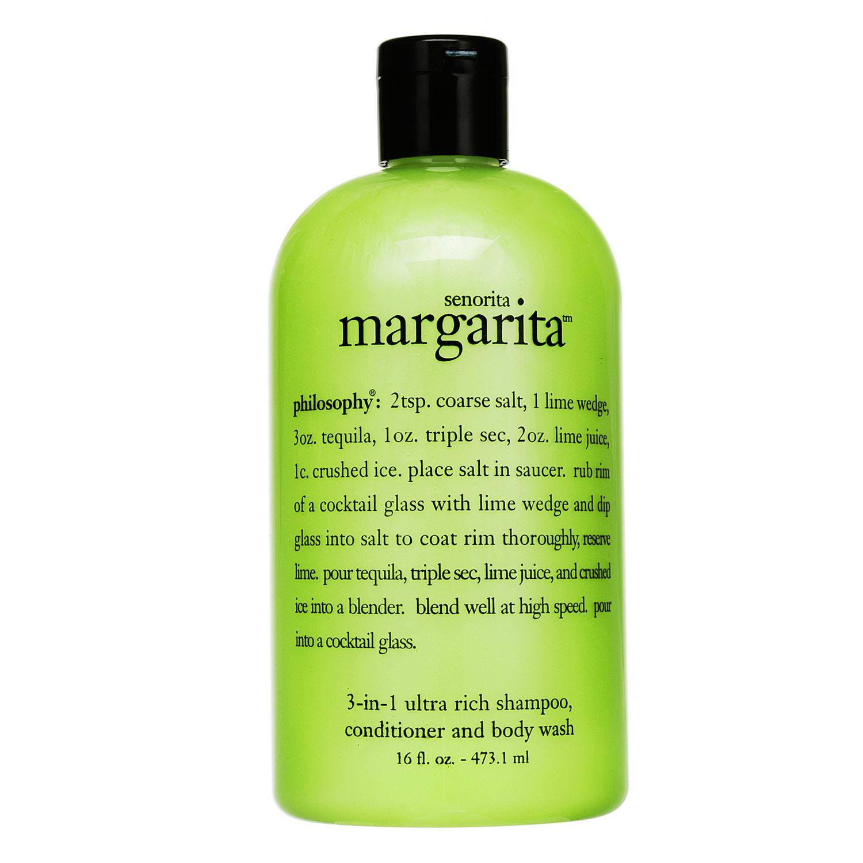 Senorita Margarita Shampoo, Shower Gel & Bubble Bath