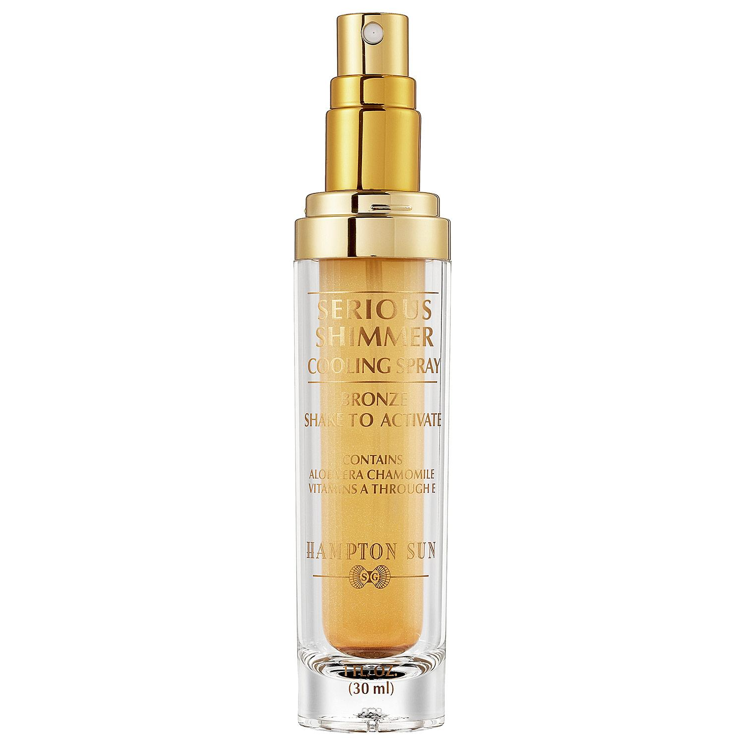 Serious Shimmer Cooling Spray - Bronze