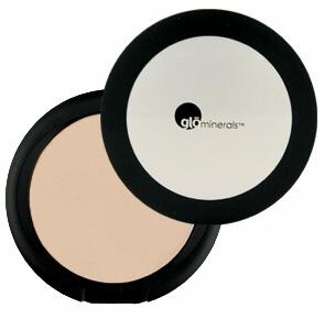 Glo Pressed Base Powder Foundation - Honey Medium