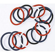 DCNL Thick Hair Elastics Assorted Colors