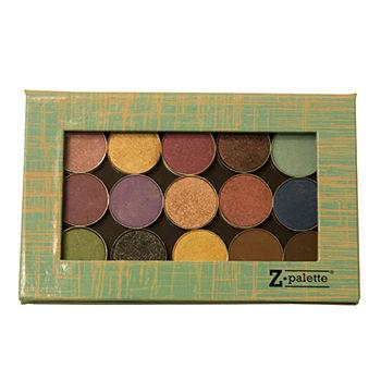 Customizable Makeup Palette 4U, Aqua/Yellow1 ea