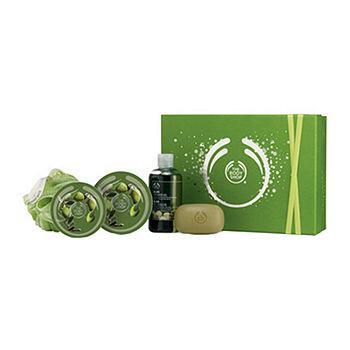 Olive Shower, Scrub & Soften Luxury Gift ($51 Value)1 set