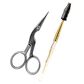 Tweezerman Professional Brow Shaping Scissors And Brush Kit