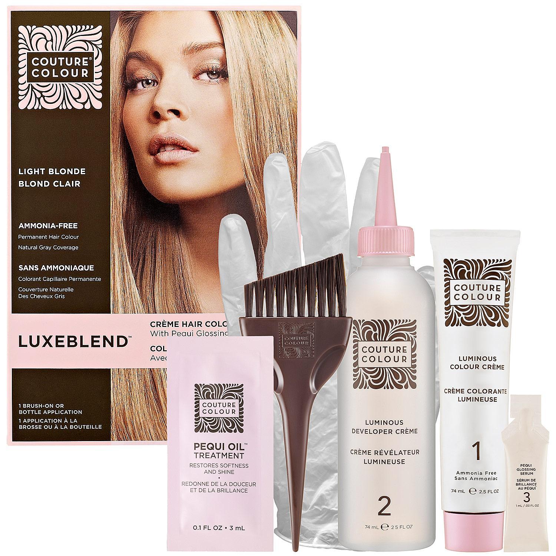 Luxeblend™ Crème Hair Colour With Pequi Glossing Serum - Light Blonde