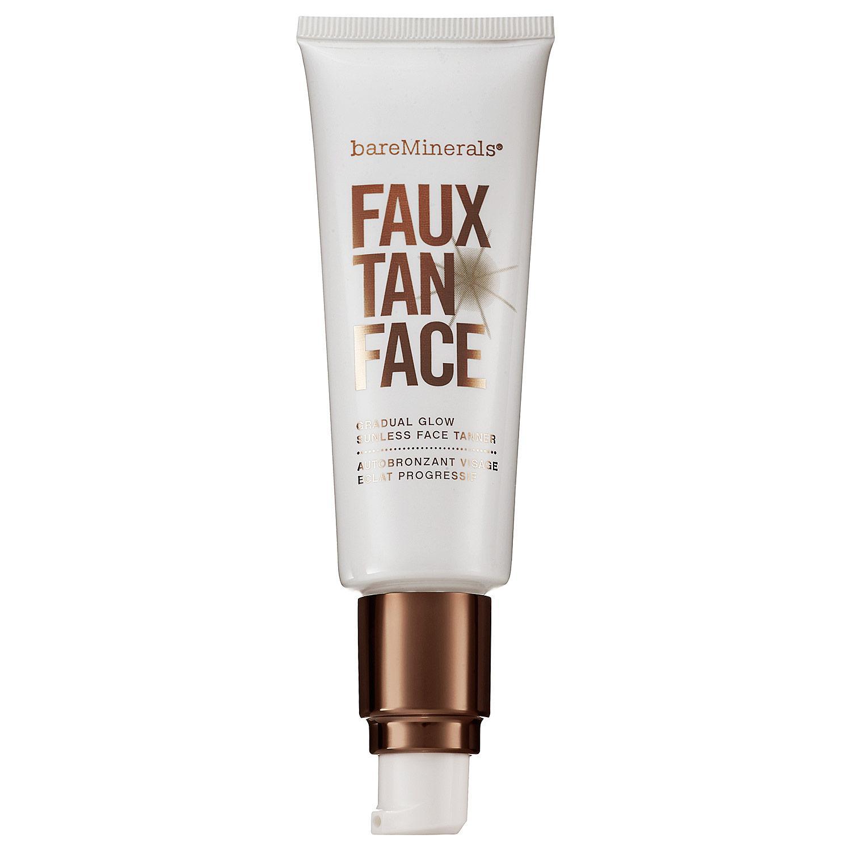 Faux Tan Face Gradual Glow Sunless Tanner