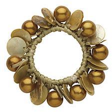 DCNL Topaz Pearl Shell Pony Bracelet
