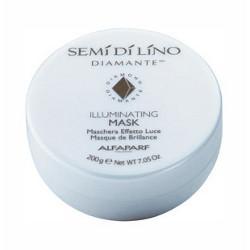Semi Di Lino Diamante Illuminating Mask