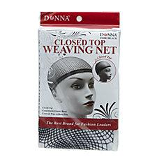 Closed Top Black Weaving Net