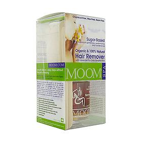 Moom Organic Hair Removal Kit with Lavender (Spa Formula)