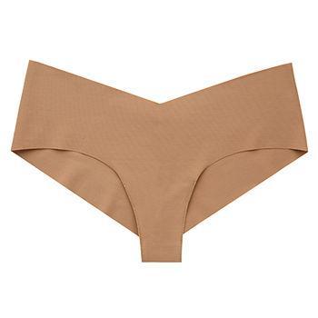 Low-Rise Microfiber Girl Short, Dark Nude, Small/Medium, Dark Nude1 ea