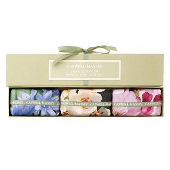 Pear Blossom Box of Three Soaps Gift Set 1 ea