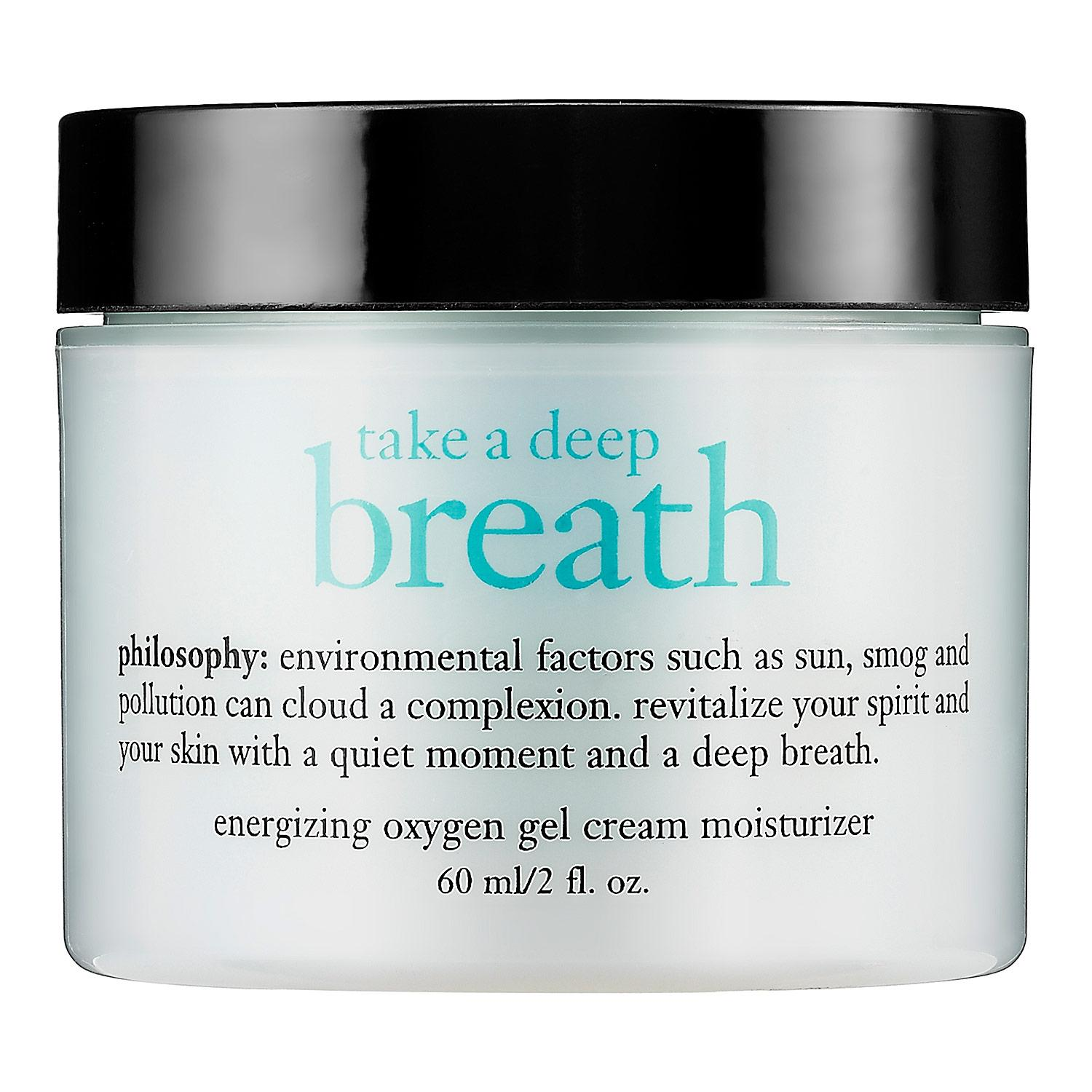Take A Deep Breath Oil-Free Energizing Oxygen Gel Cream Moisturizer