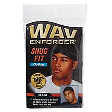 Dri Sweat Do-Rag -Bold Black