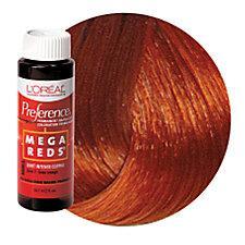 L'Oreal Mega Reds Haircolor Intense Red Copper MR1
