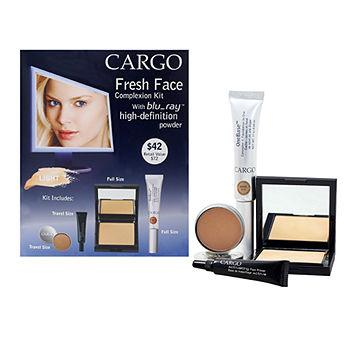 Fresh Face Complexion Kit, Light/Nude 1 ea
