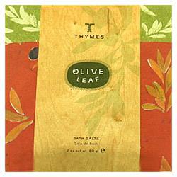 Olive Leaf Bath Salts Envelope