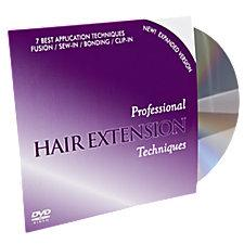 Professional Hair Extensions Tech DVD