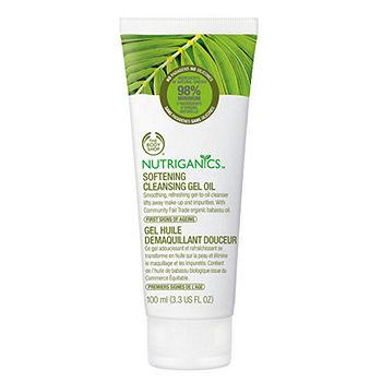Nutriganics Softening Cleansing Gel 3.38 fl oz (100 ml)