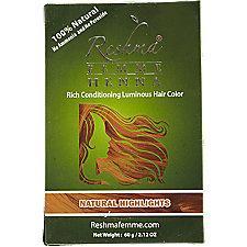 Reshma Henna Natural Highlights