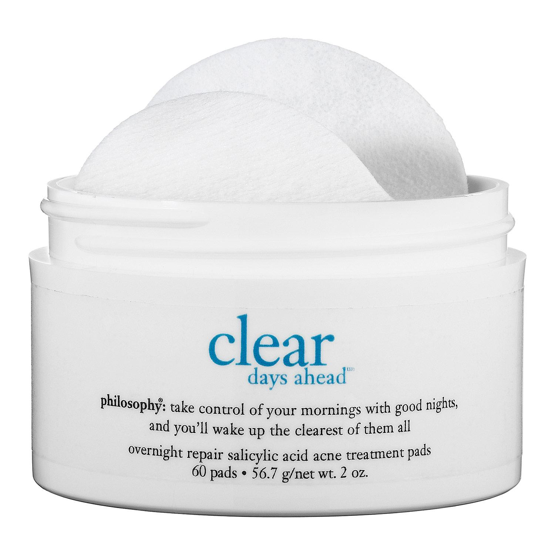 Clear Days Ahead™ Overnight Repair Salicylic Acid Acne Treatment Pads