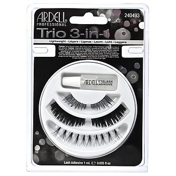 Trio 3 IN 1 Lash Collection w/Adhesive