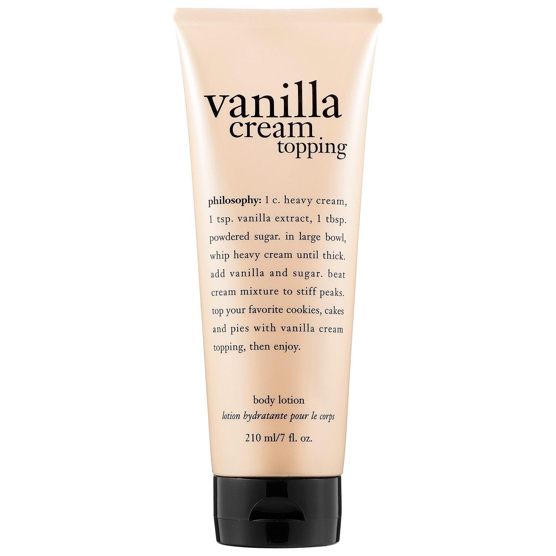 Vanilla Cream Topping Body Lotion