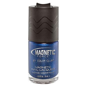 Magnetic Nail Lacquer- Electro-Midnight
