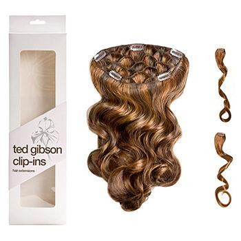 3 piece Clip In Hair Extension, Marcia (Copper / Golden Red)1 ea