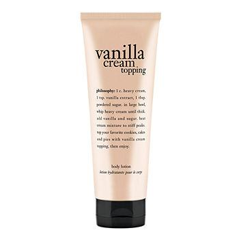whipped vanilla topping lotion7 oz