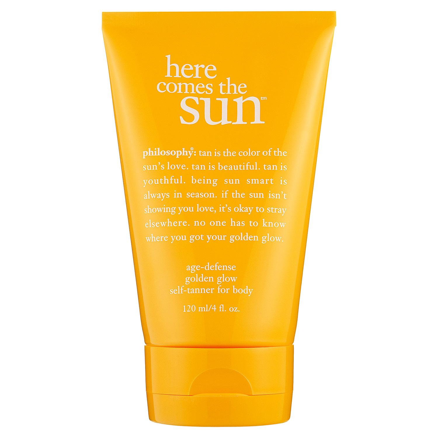 Here Comes the Sun™ Age- Defense Golden Glow Self-Tanner For Body