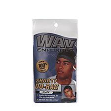Wave Enforcer No Tail Do-Rag - Black