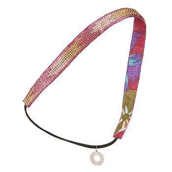 Ikat Crystal Headwrap, Pink Multi1 ea