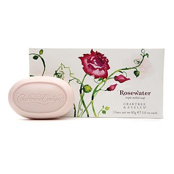 Rosewater Milled Soap 1 ea