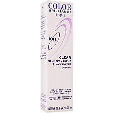 Ion Color Brilliance Semi-Permanent Brights Clear Shade Diluter