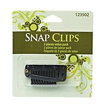 Hair Extension Clips Black