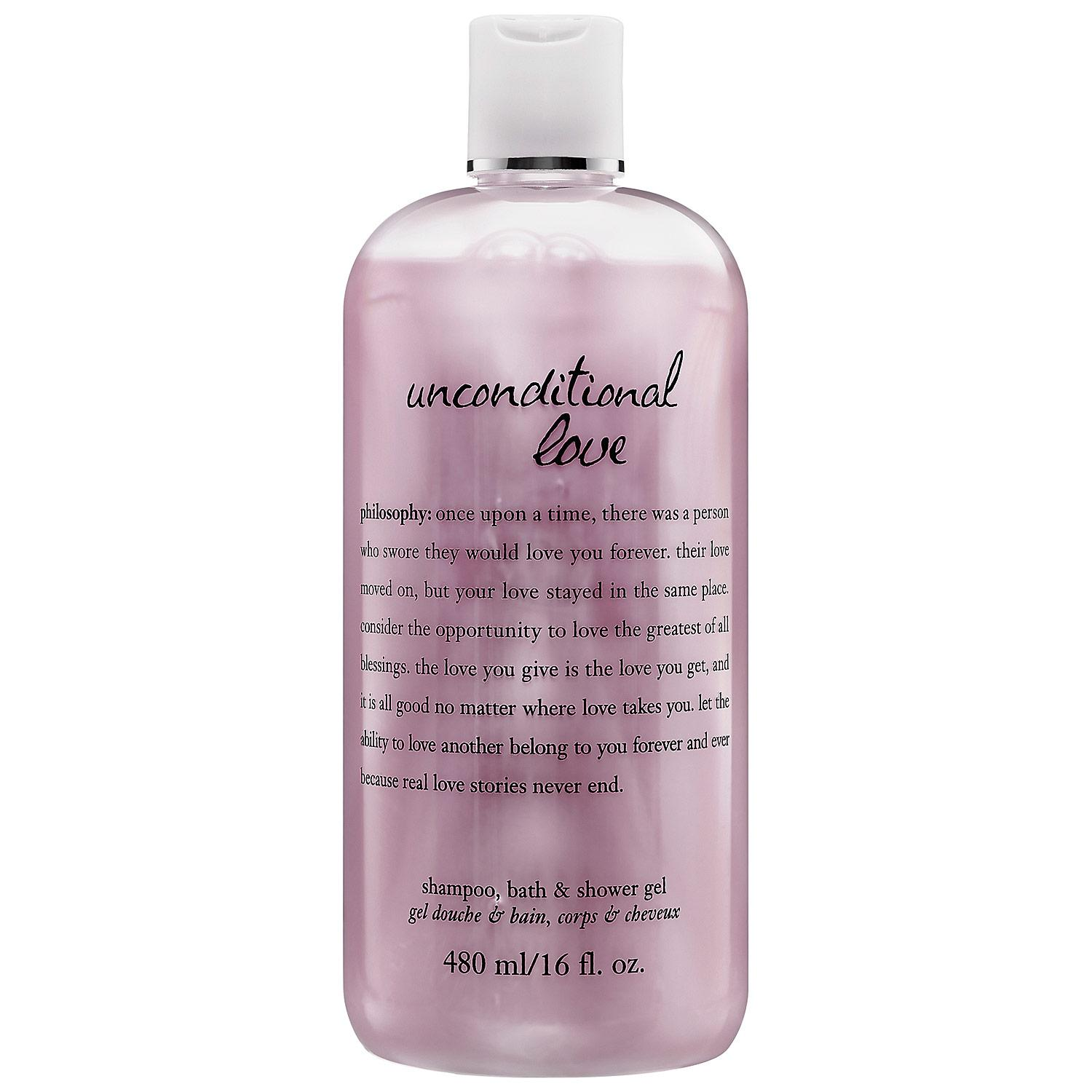 Unconditional Love Shampoo, Bath and Shower Gel