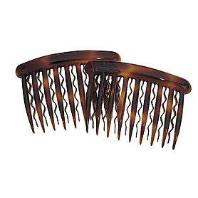 Tortoise Side Combs for thin hair