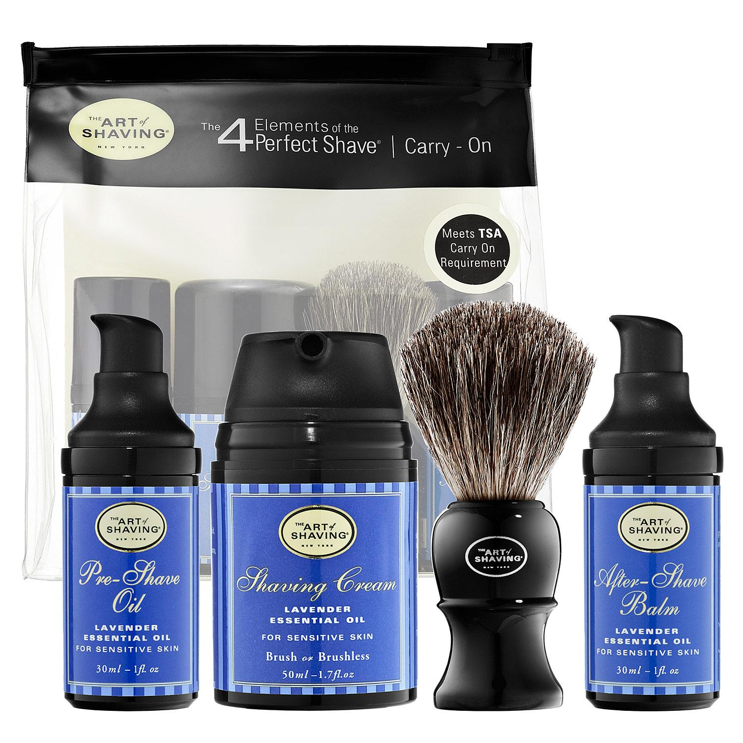 The 4 Elements of the Perfect Shave™ Carry-On - Lavender