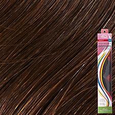 Clip-In Remy Wavy Extension Medium Dark Brown