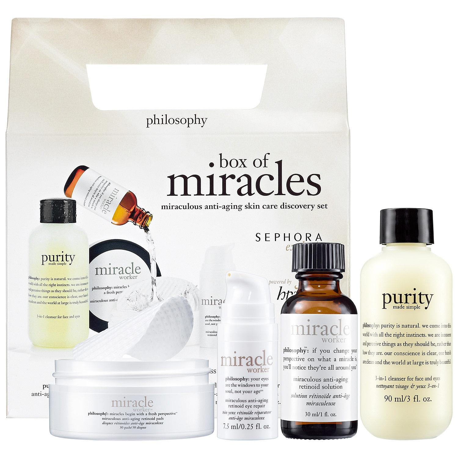 Box Of Miracles Miraculous Anti-Aging Skin Care Discovery Set