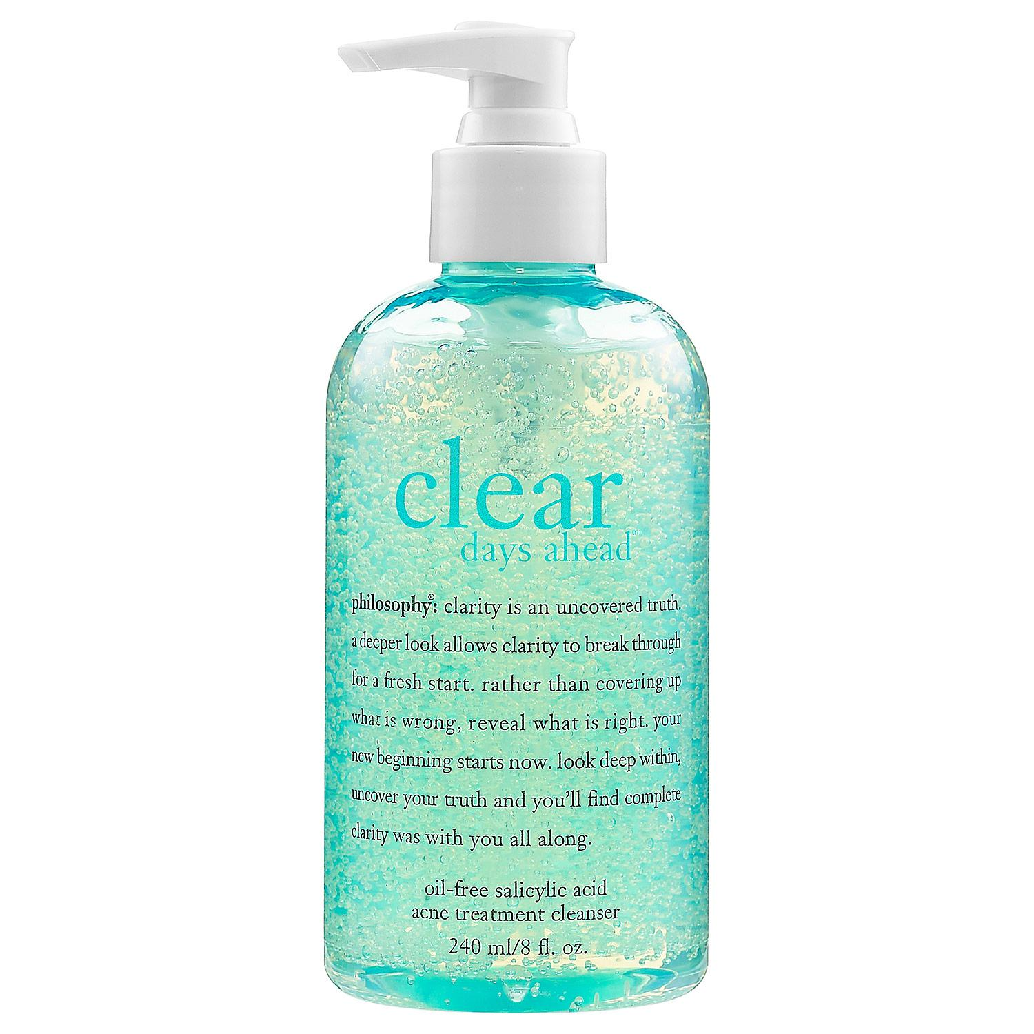 Clear Days Ahead™ Oil-Free Salicylic Acid Acne Treatment Cleanser