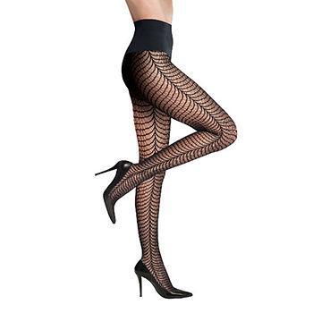 zebra Leg TIGHTS, S, Black1 ea