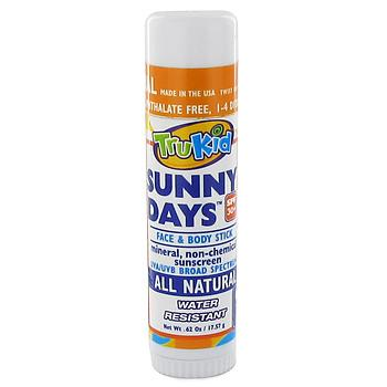 All Natural Sunny Days Face and Body SPF 30+ Stick