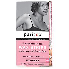 Parissa Wax Strips 3 Assort. Sensitive 24 strips
