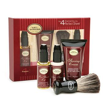 The 4 Elements of The Perfect Shave Starter Kit, Sandalwood 1 kit
